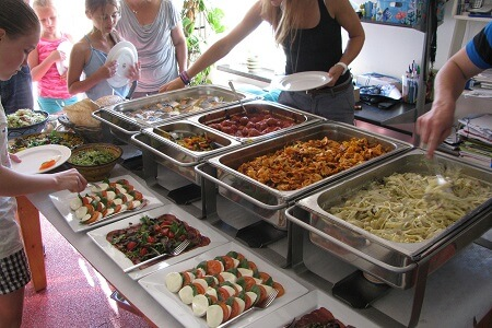 buffet catering 1 - Catering Middelburg