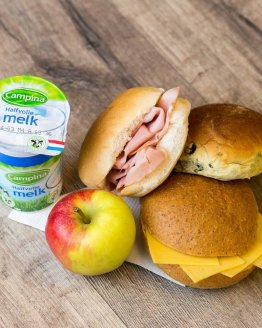 lunchpakket basis 262x328 - Ontbijtservice Goes