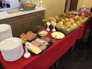 ontbijt buffet op locatie